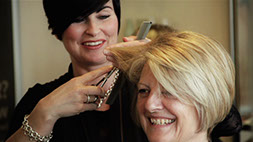 Video production Scotland - hairdressers web advert, Dundee
